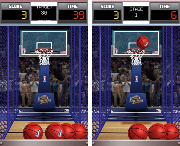 USA Basketball Shoot - Imagem 2 do software