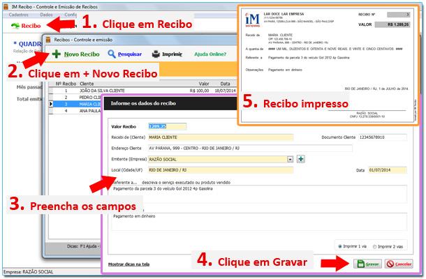 IM Recibo - Imagem 1 do software
