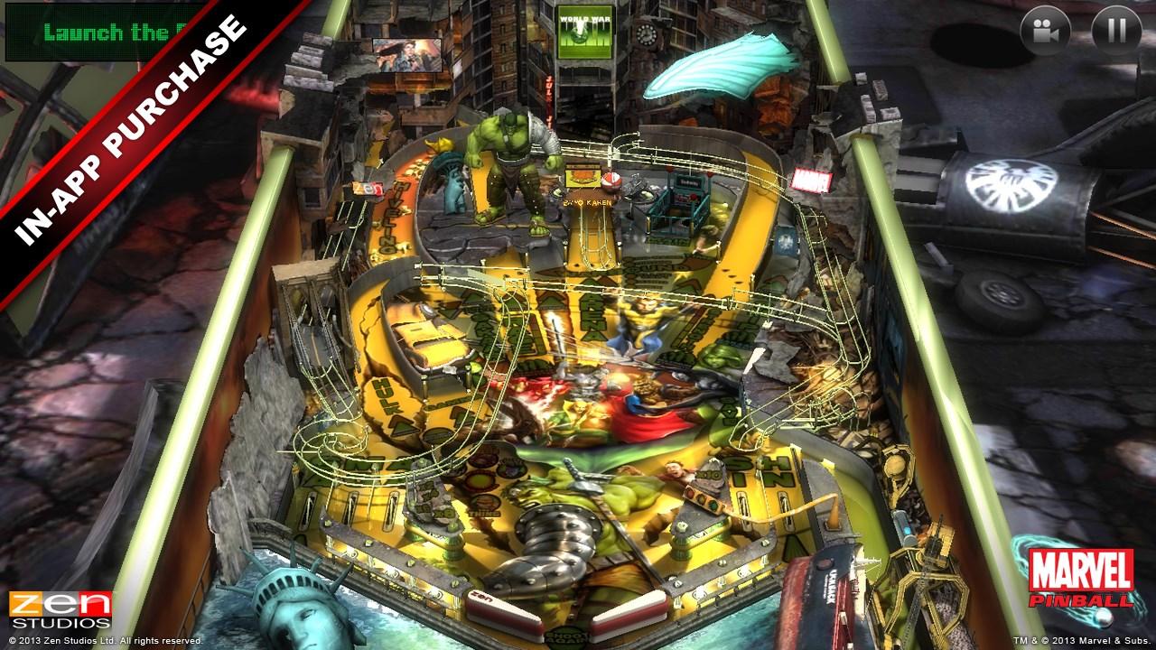 Marvel Pinball - Imagem 1 do software