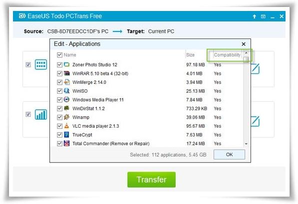 EaseUS Todo PCTrans - Imagem 3 do software