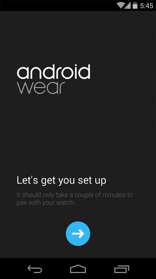 Android Wear - Imagem 1 do software