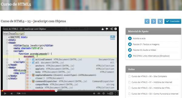 Curso de HTML5 - Imagem 1 do software