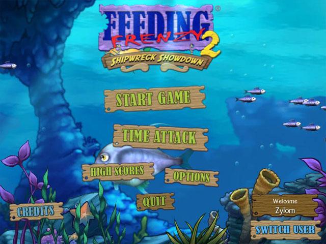 Feeding Frenzy 2 Deluxe - Imagem 1 do software