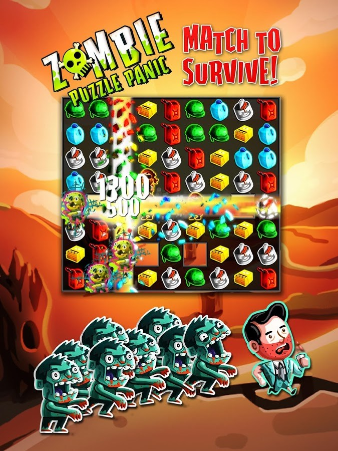 Zombie Puzzle Panic - Imagem 1 do software