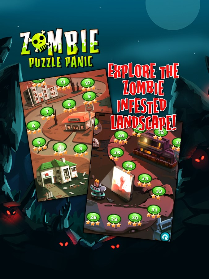 Zombie Puzzle Panic - Imagem 2 do software