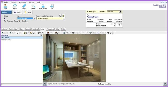 Sabe Imobiliária - Imagem 1 do software