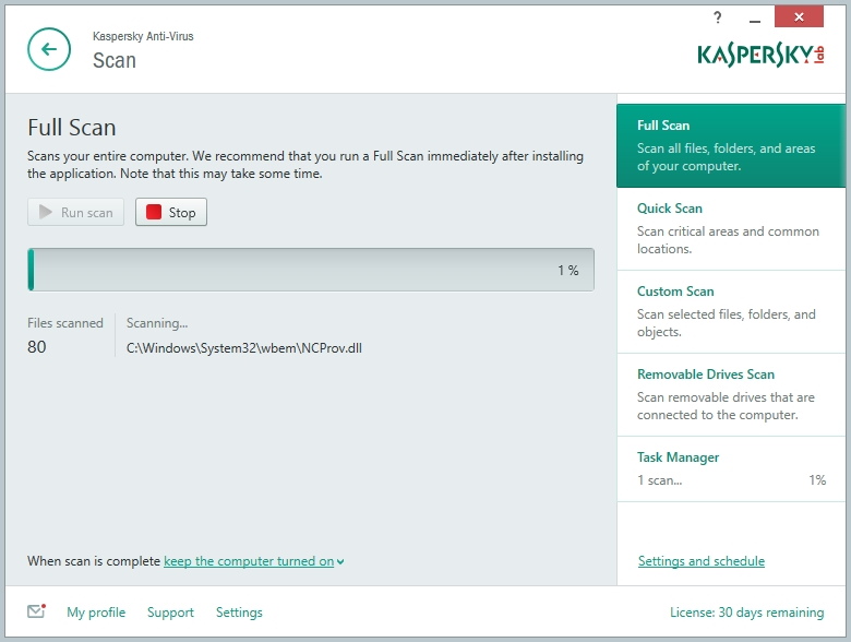 Kaspersky Anti-Vírus 2018 - Imagem 3 do software
