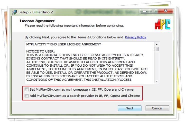 Billiardino 2 - Imagem 2 do software