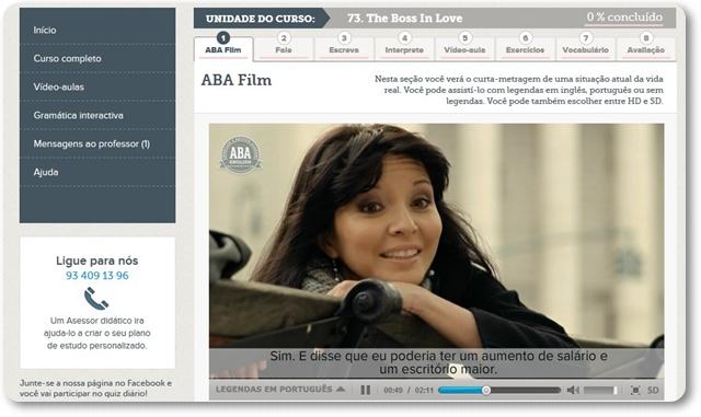 ABA English - Imagem 2 do software