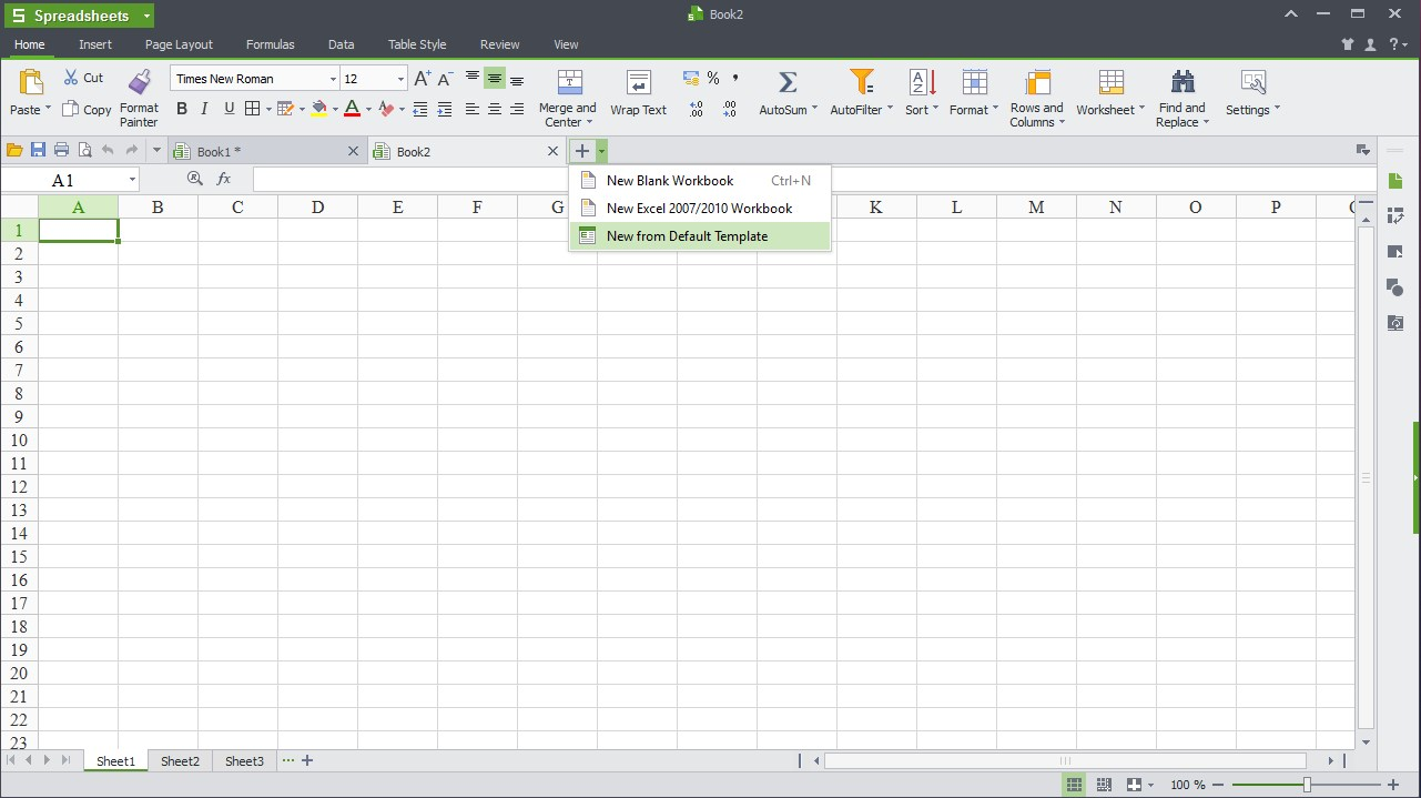 WPS Office - Imagem 1 do software