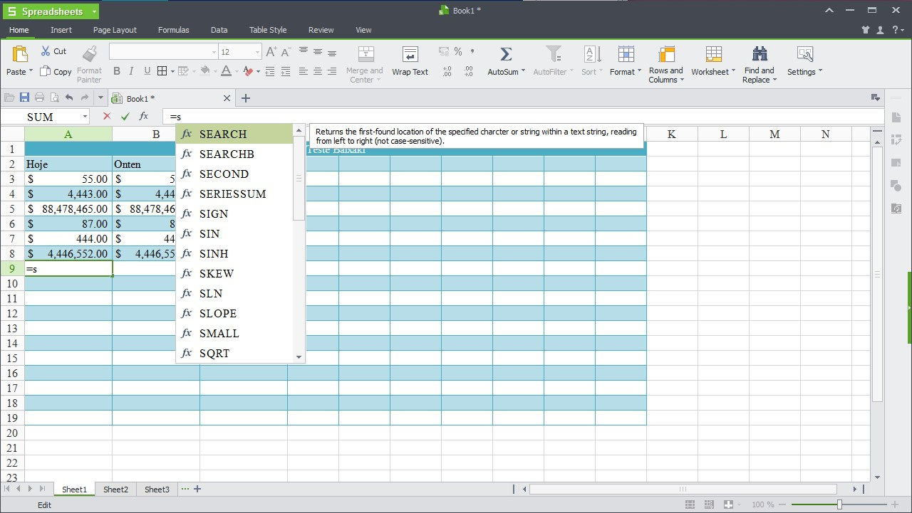 WPS Office - Imagem 3 do software