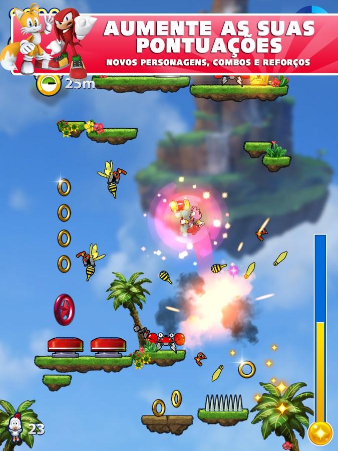 Sonic Jump Fever - Imagem 1 do software