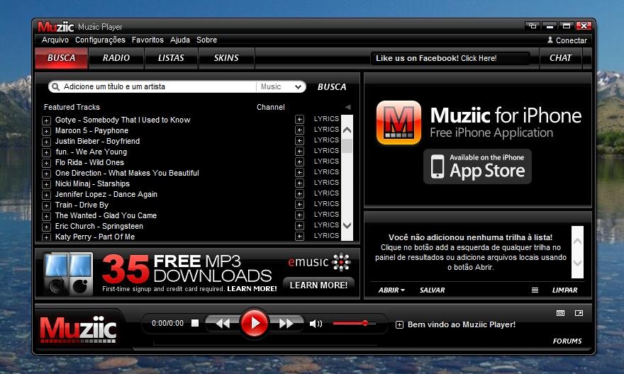 Muziic - Imagem 1 do software
