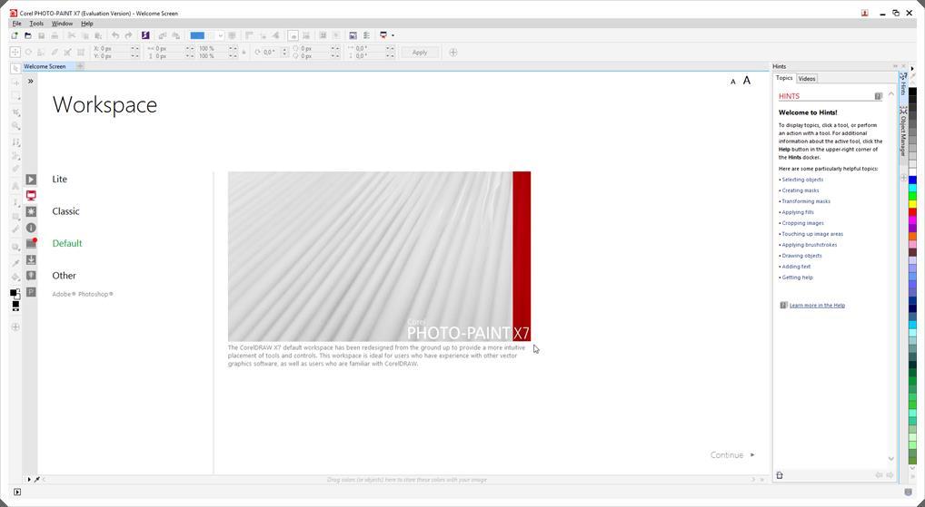 Corel PHOTO-PAINT - Imagem 1 do software