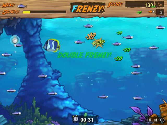 Feeding Frenzy 2 Deluxe - Imagem 2 do software