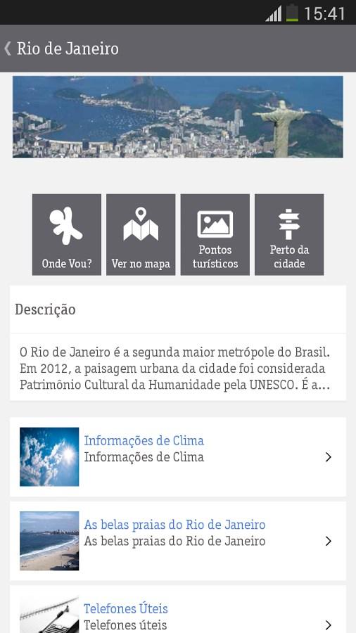 Vivo Tour - Imagem 1 do software