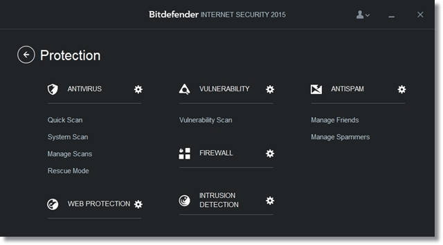 Bitdefender Internet Security - Imagem 2 do software
