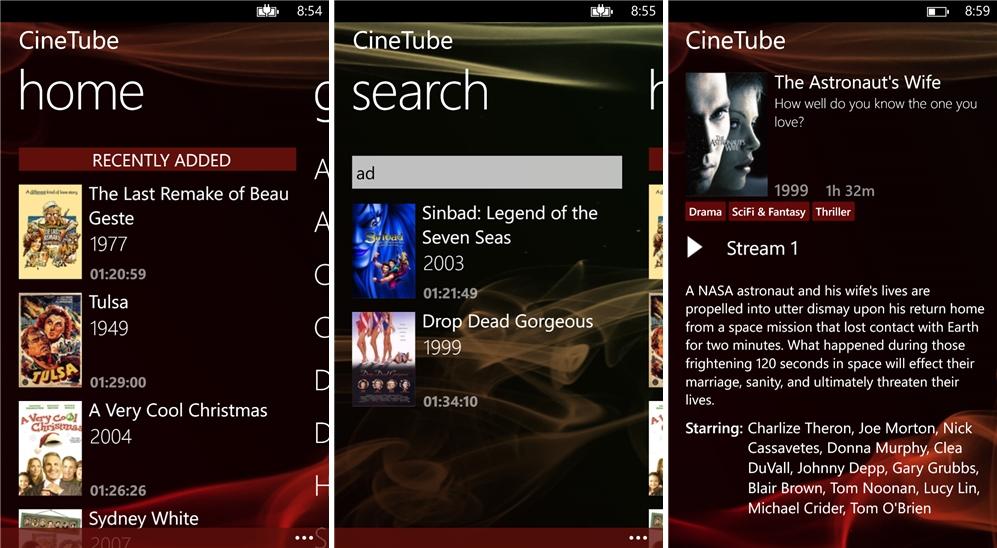 CineTube - Imagem 1 do software