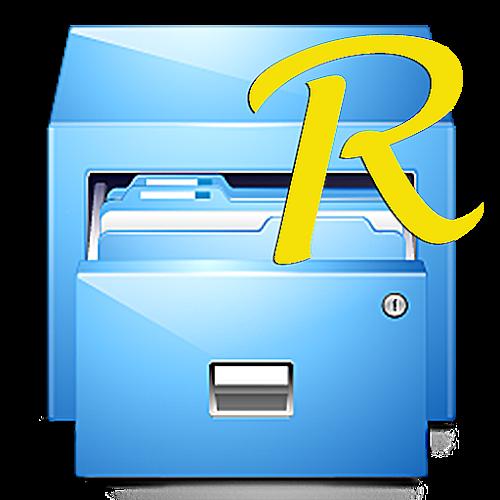 Logo Root Explorer (File Manager) ícone