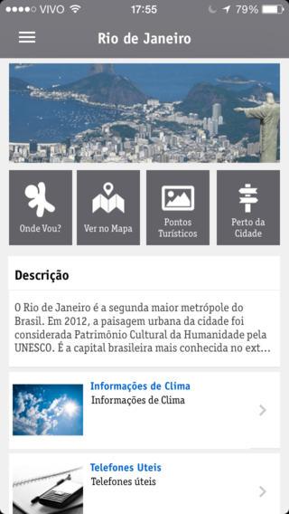 Vivo Tour - Imagem 2 do software