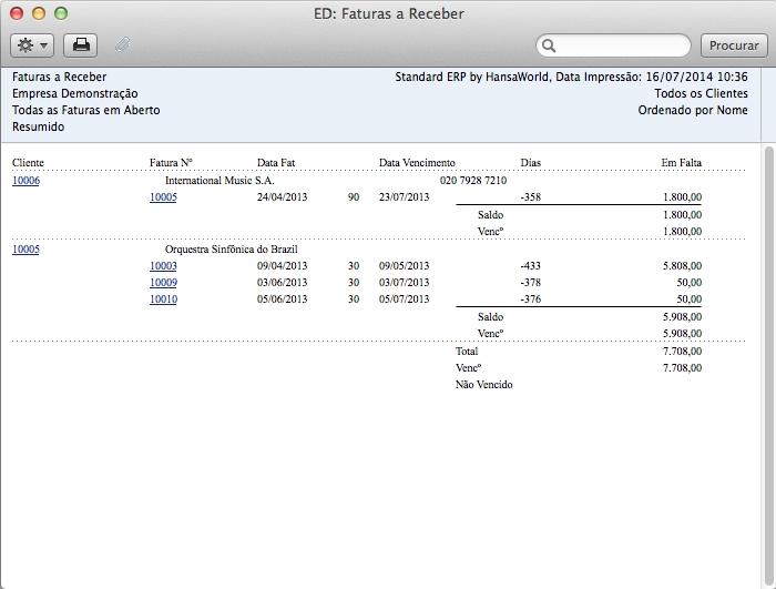 Standard ERP - Imagem 2 do software