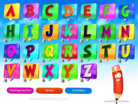 Alfabeto3D - Imagem 1 do software