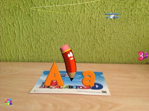 Alfabeto3D - Imagem 2 do software