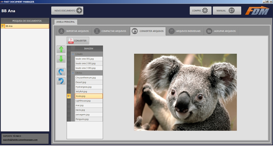 FDM – Fast Document Manager - Imagem 1 do software