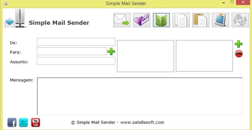 Simple Mail Sender - Imagem 1 do software
