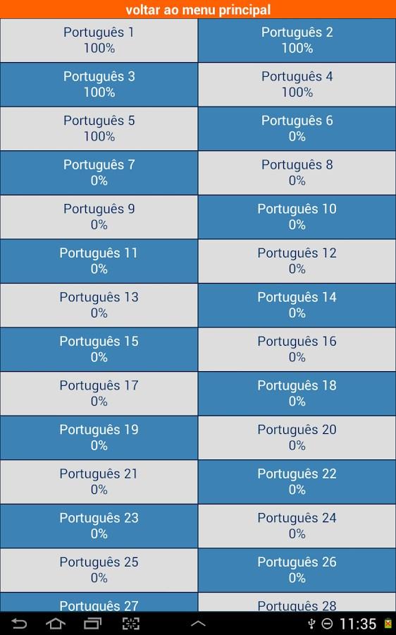 Palavras Cruzadas Grátis - Imagem 2 do software