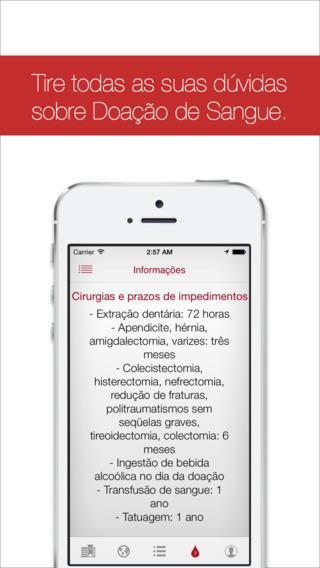 DoaSangue - Imagem 2 do software