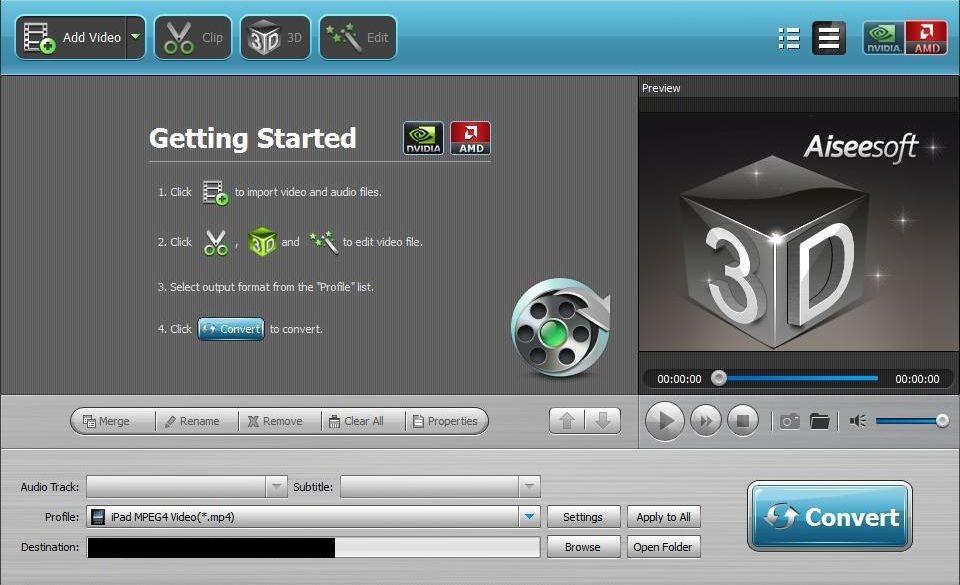 Aiseesoft Video Converter Platinum - Imagem 1 do software