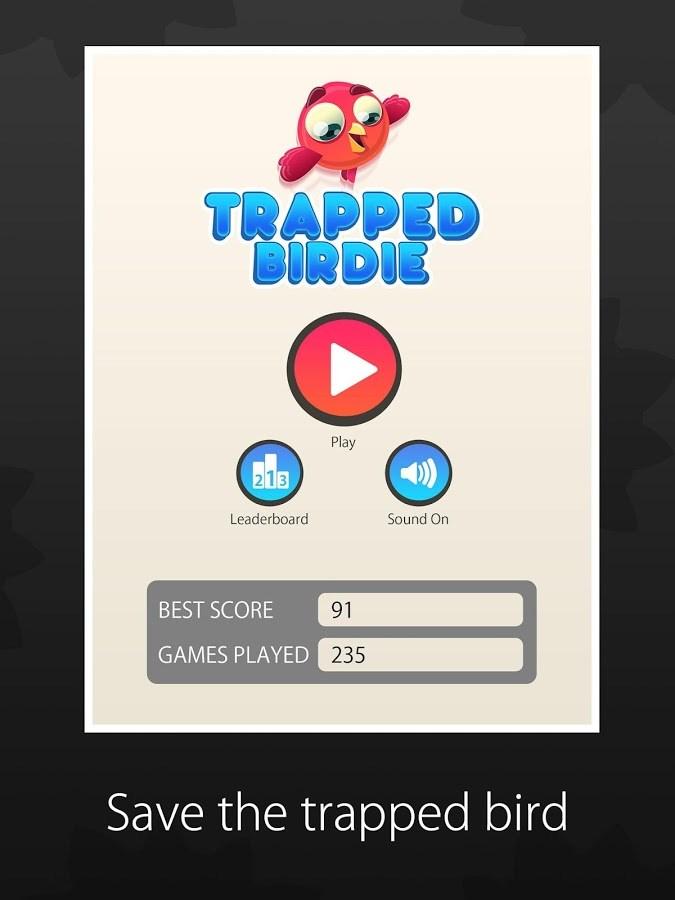 Trapped Birdie - Imagem 2 do software