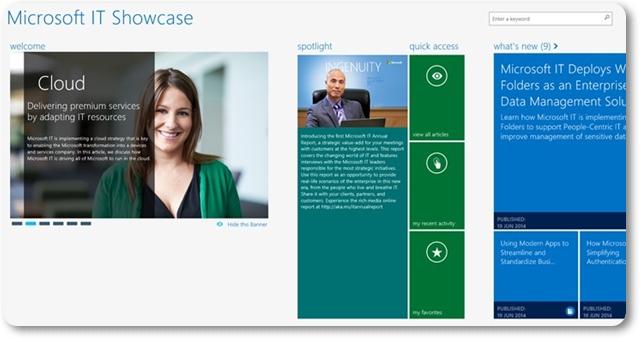 Microsoft IT Showcase - Imagem 1 do software