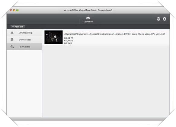 Aiseesoft Video Downloader - Imagem 2 do software