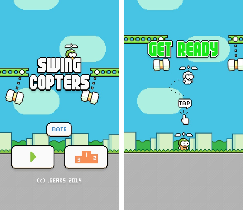 Swing Copters - Imagem 1 do software