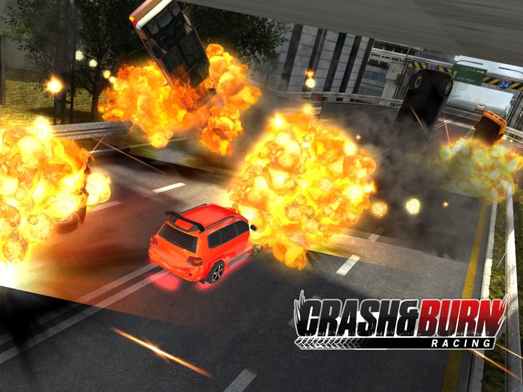 Crash and Burn Racing - Imagem 1 do software