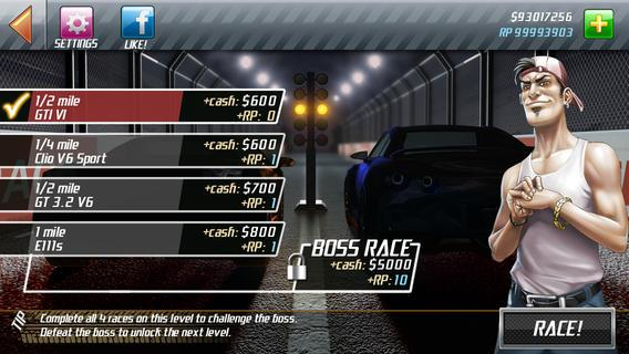 Drag Racing - Imagem 2 do software