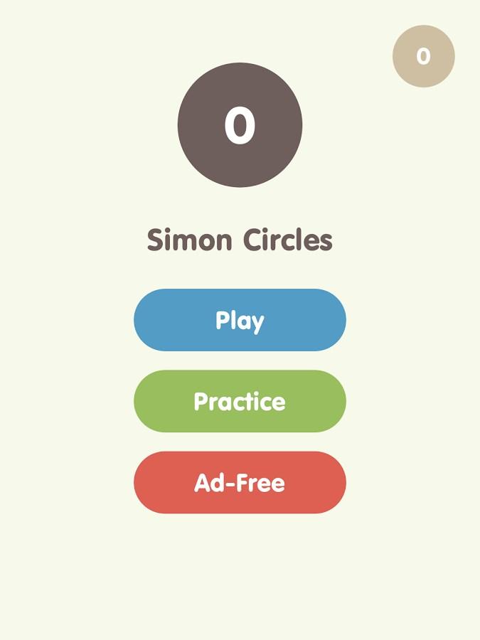 Simon Circles - Imagem 1 do software