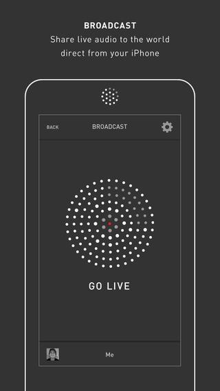 Mixlr - Social Live Audio - Imagem 1 do software