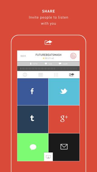 Mixlr - Social Live Audio - Imagem 2 do software