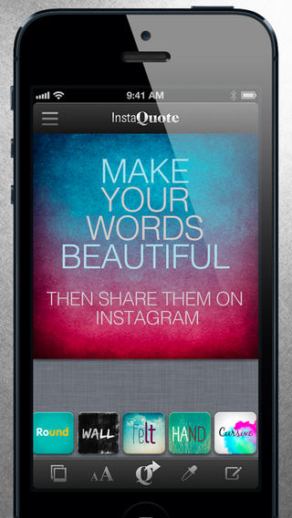 InstaQuote: add text to photos - Imagem 1 do software