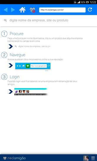 Reclamigão - Imagem 2 do software
