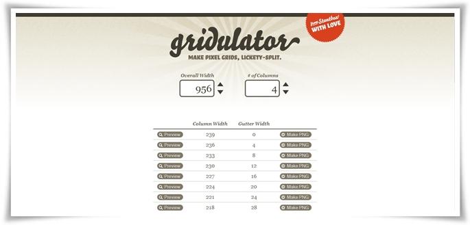 Gridulator - Imagem 1 do software