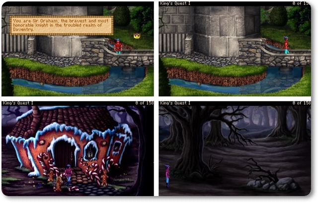 King`s Quest I: Quest for the Crown - Imagem 1 do software