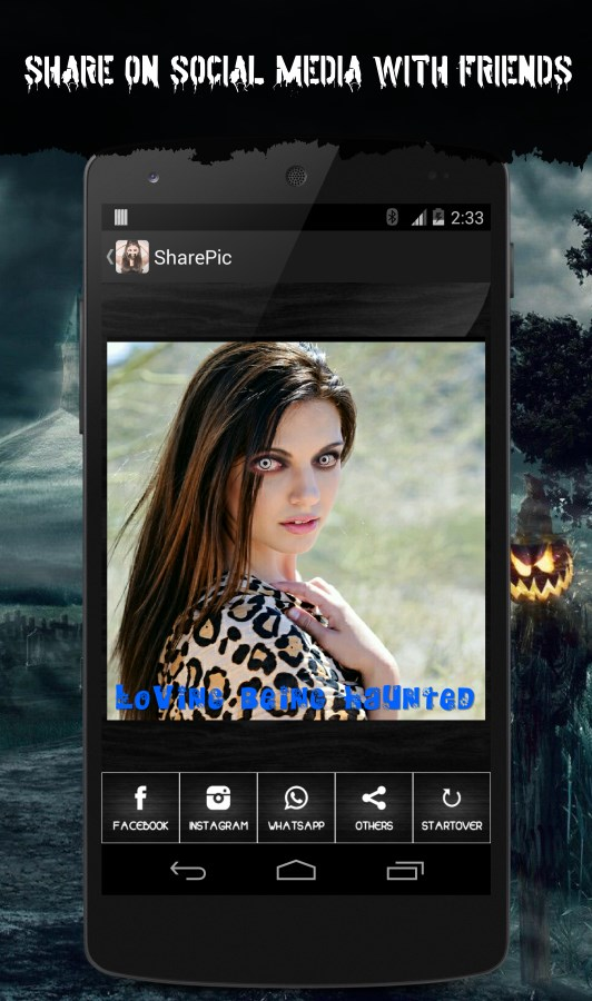 Haunted Face Changer - Imagem 1 do software