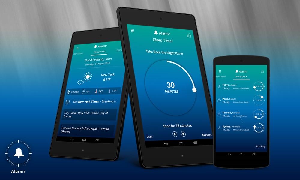 Alarmr - Intuitive alarm clock - Imagem 1 do software