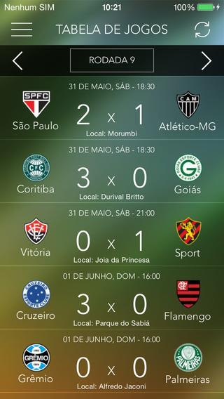 Brasileirão Pro 2014 - Acompanhe Ao Vivo - Imagem 1 do software