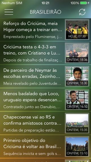 Brasileirão Pro 2014 - Acompanhe Ao Vivo - Imagem 2 do software