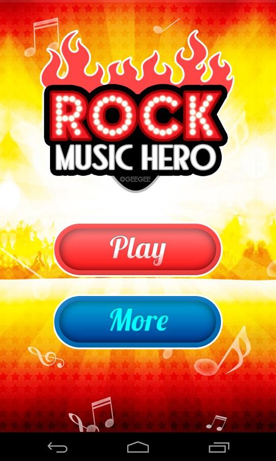 Music Hero Rock - Imagem 1 do software